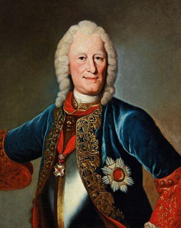 Finanzierung der Restaurierung des Gemäldes Landgraf Ernst Ludwig