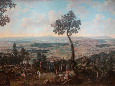 Restauriertes Gemälde